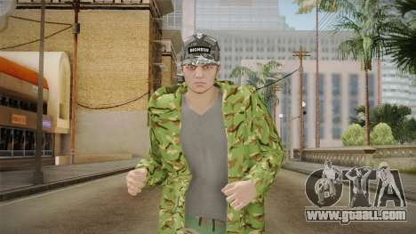 GTA Online DLC Import-Export Male Skin 1 for GTA San Andreas