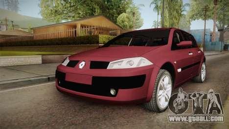 Renault Megane Hatchback v1.1 for GTA San Andreas