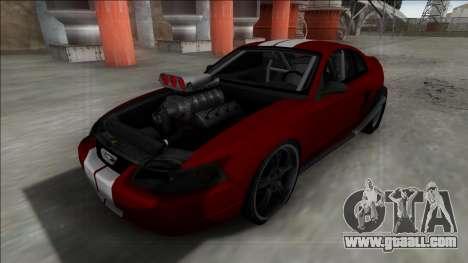 1999 Ford Mustang Drag for GTA San Andreas