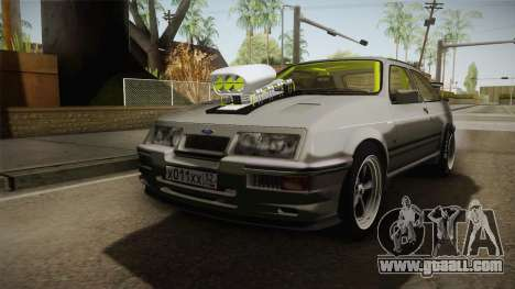 Ford Sierra RS500 Cosworth Drag for GTA San Andreas right view