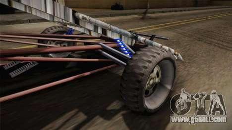 Bandito Ramp Car for GTA San Andreas back view