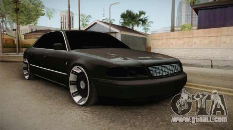 Audi A8 S8 D2 Lowstance for GTA San Andreas right view