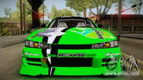 Nissan Silvia S14 Drift Speedhunters Saekano for GTA San Andreas right view