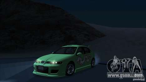 2003 Seat Leon Cupra R Series I for GTA San Andreas back view