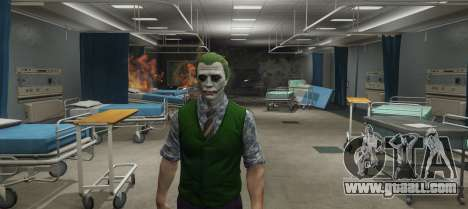 GTA 5 Heath Ledger Joker Skin Pack 3.0