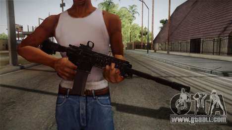 CoD 4: MW - M4A1 Remastered v2 for GTA San Andreas