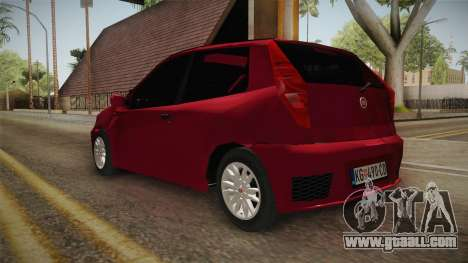 Fiat Punto Mk2 for GTA San Andreas back left view