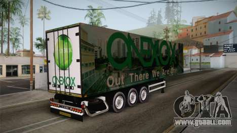 ONEXOX Trailer for GTA San Andreas back left view