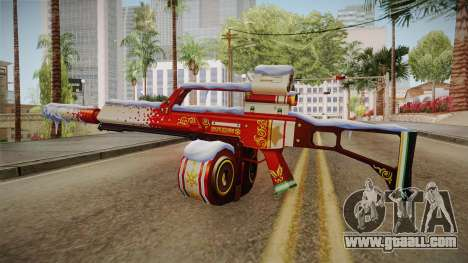 Vindi Xmas Weapon 5 for GTA San Andreas second screenshot