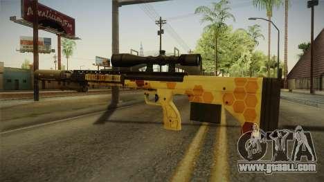 DesertTech Weapon 1 Camo for GTA San Andreas second screenshot