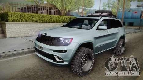Jeep Grand Cherokee SRT Lifted for GTA San Andreas