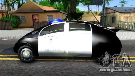 Alien Police San Fierro for GTA San Andreas left view