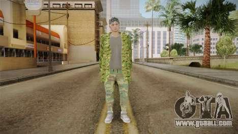 GTA Online DLC Import-Export Male Skin 1 for GTA San Andreas second screenshot