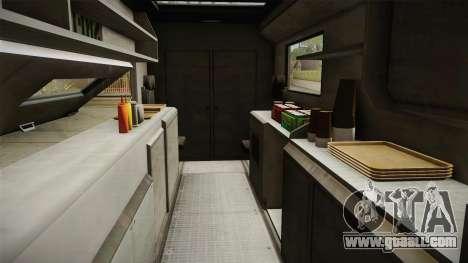 GTA 5 Brute Taco Van IVF for GTA San Andreas inner view
