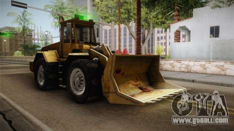 Driver: PL - Dozer for GTA San Andreas back left view