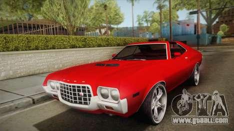 Ford Gran Torino 1972 for GTA San Andreas