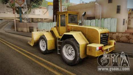 Driver: PL - Dozer for GTA San Andreas right view