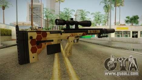 DesertTech Weapon 1 Camo Silenced for GTA San Andreas third screenshot