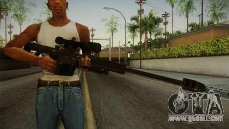 CoD 4: MW - Barrett M82 Remastered for GTA San Andreas