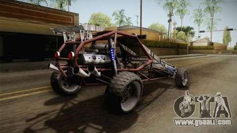 Bandito Ramp Car for GTA San Andreas right view