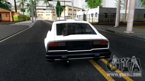 Nissan 280ZX Transformers G1 Bluestreak for GTA San Andreas back left view