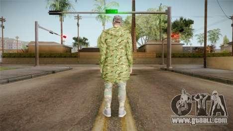 GTA Online DLC Import-Export Male Skin 1 for GTA San Andreas third screenshot
