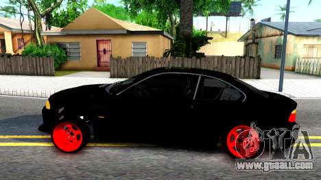 BMW 3-er E46 for GTA San Andreas left view