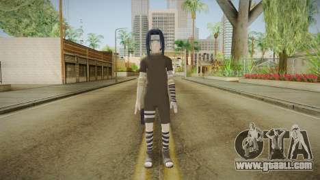 NUNS4 - Sasuke Genin Black Clothes Sharingan for GTA San Andreas second screenshot