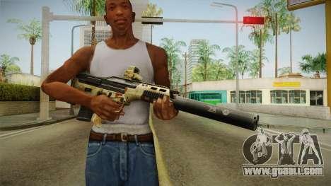 DesertTech Weapon 2 Camo Silenced for GTA San Andreas