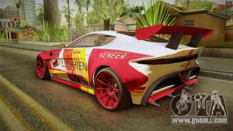 GTA 5 Dewbauchee Specter Custom IVF for GTA San Andreas