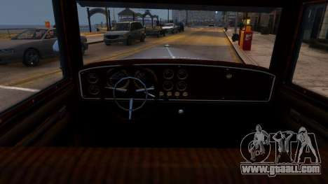 Albany Roosevelt for GTA 4 inner view