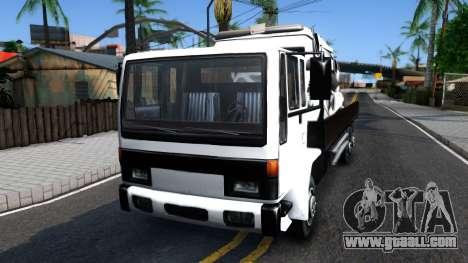 DFT-30 With Broken Sadler and Glendale for GTA San Andreas