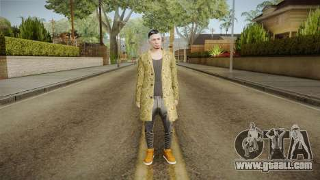 GTA Online DLC Import-Export Male Skin 2 for GTA San Andreas second screenshot