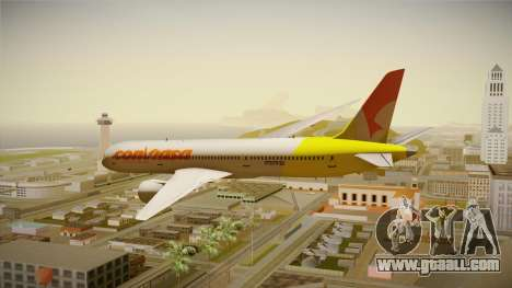 Boeing 787 Conviasa for GTA San Andreas left view