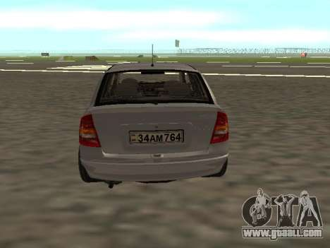Opel Astra G Armenian for GTA San Andreas right view
