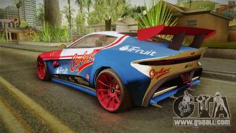 GTA 5 Dewbauchee Specter Custom IVF for GTA San Andreas wheels