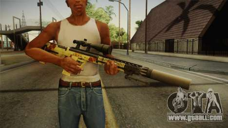 DesertTech Weapon 1 Camo for GTA San Andreas third screenshot