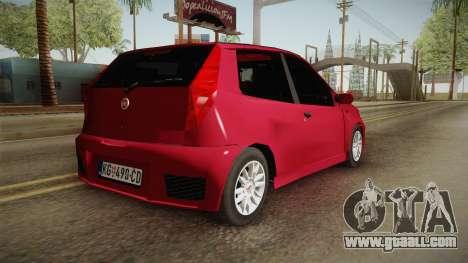 Fiat Punto Mk2 for GTA San Andreas left view