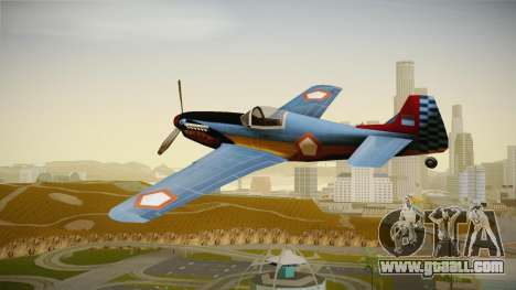 Rustler Indonesian Air Force v1 for GTA San Andreas left view