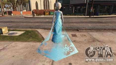 GTA 5 Elsa from Frozen third screenshot