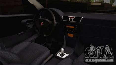 Fiat Stilo for GTA San Andreas inner view