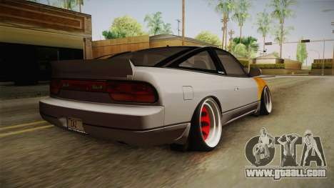 Nissan 240SX Rat Stance for GTA San Andreas left view