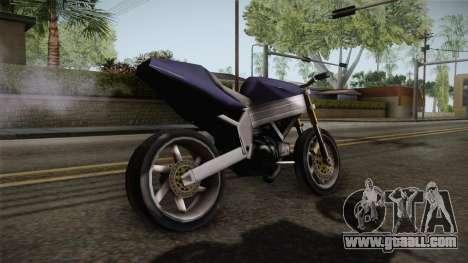 FCR-900 Stunt v1 for GTA San Andreas left view