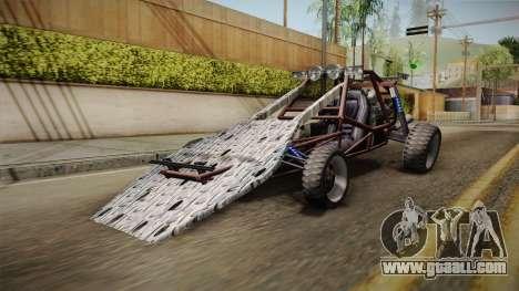Bandito Ramp Car for GTA San Andreas back left view