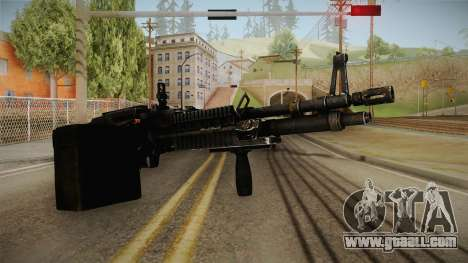 M60 Machine Gun for GTA San Andreas second screenshot