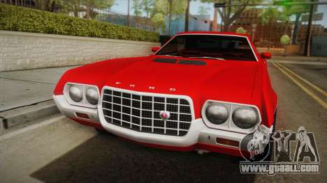 Ford Gran Torino 1972 for GTA San Andreas right view