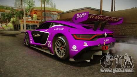 Renault Sport R.S.01 PJ2 for GTA San Andreas