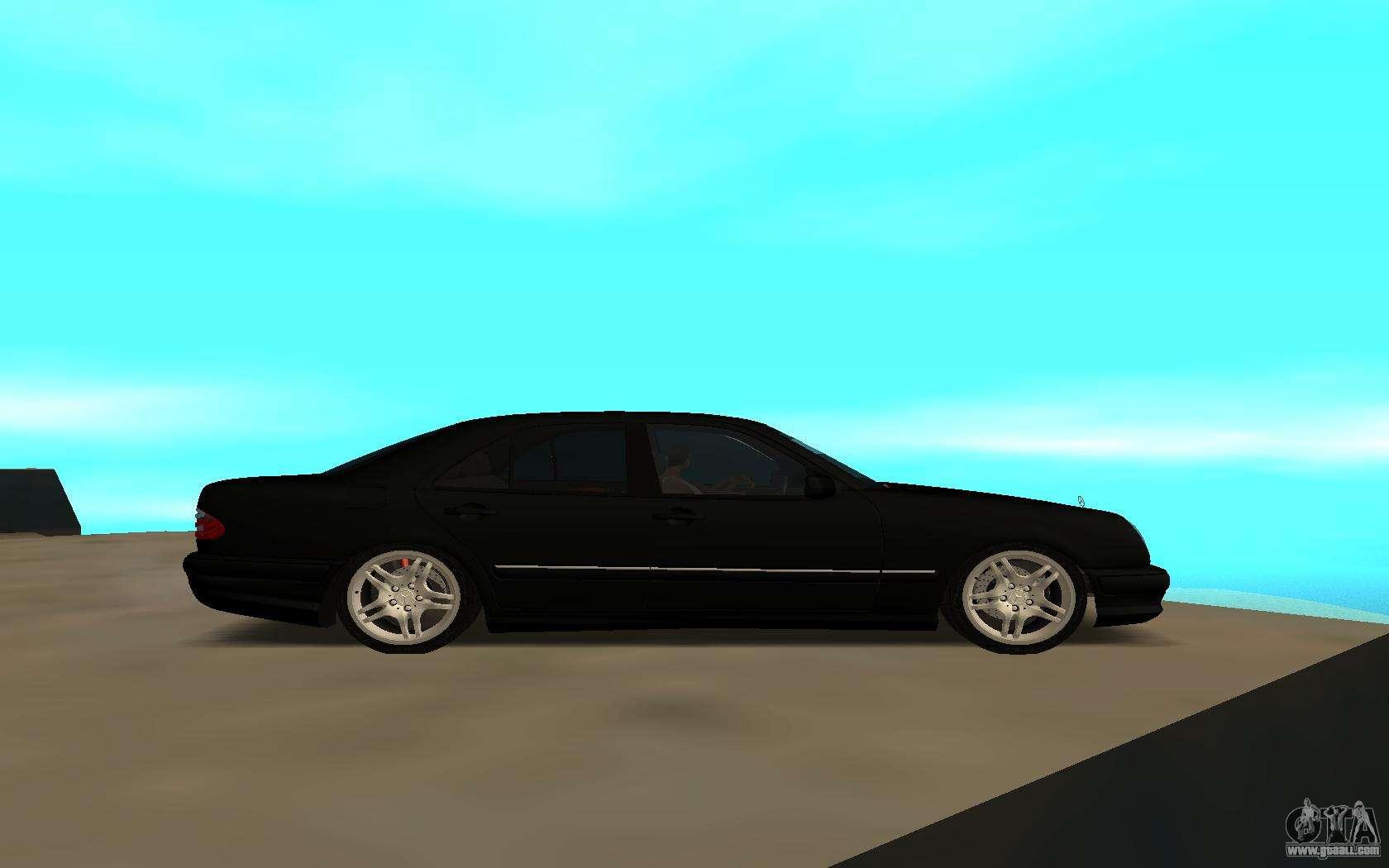 Mercedes benz e230 for gta san andreas for Mercedes benz e230