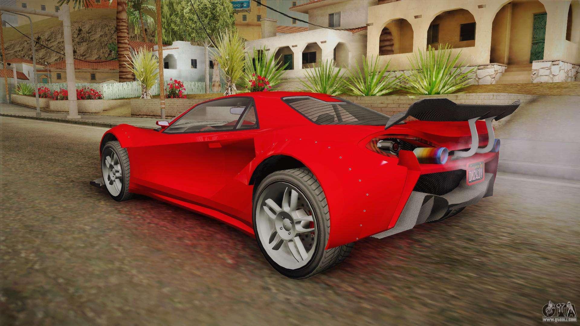 GTA 5 Progen Itali GTB Custom for GTA San Andreas