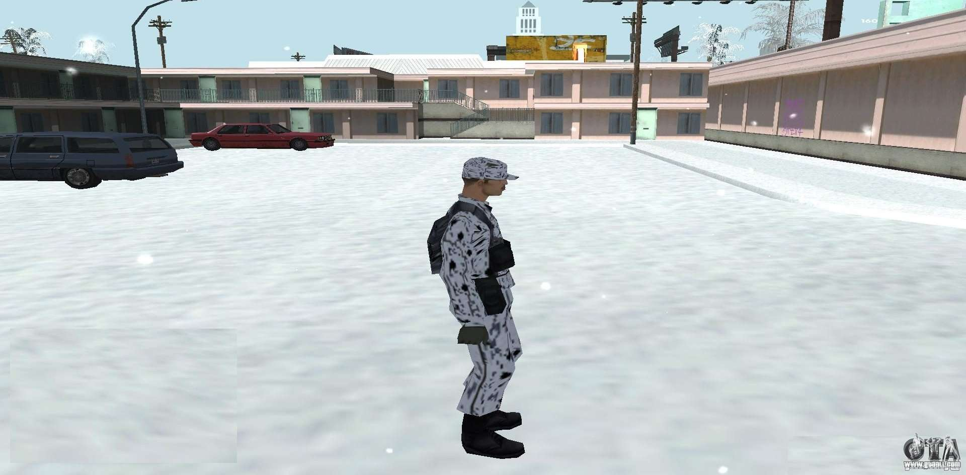 Winter Skin (Army) 1 1 for GTA San Andreas